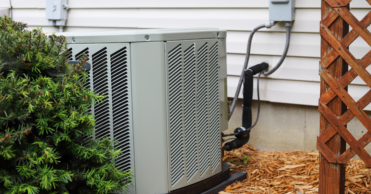 Outdoor air conditioner unit in Tallahassee